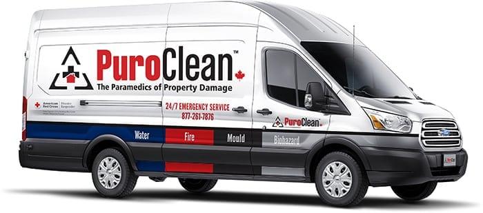 PuroClean Van