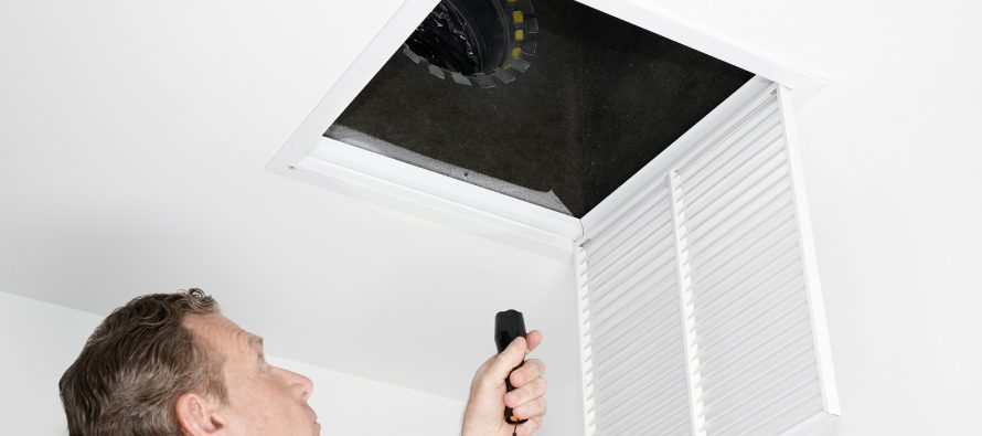mould in HVAC ducts
