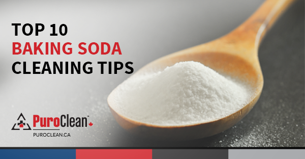 Top 10 Baking Soda Cleaning Tips Puroclean Canada Hq