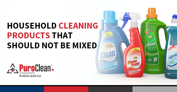 Household Cleaning Products that Should Not Be Mixed