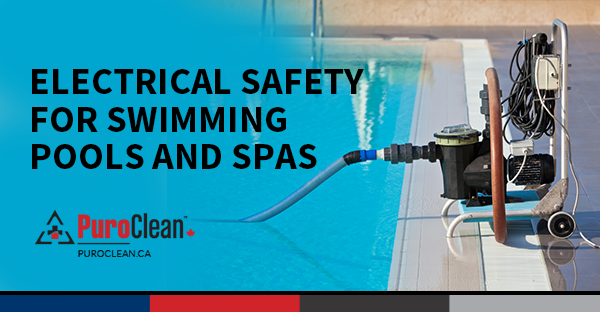 Astonishing Electrical Safety For Swimming Pools And Spas Puroclean Canada Hq Wiring Digital Resources Nekoutcompassionincorg