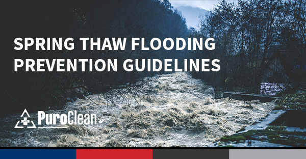 preventing spring thaw flooding